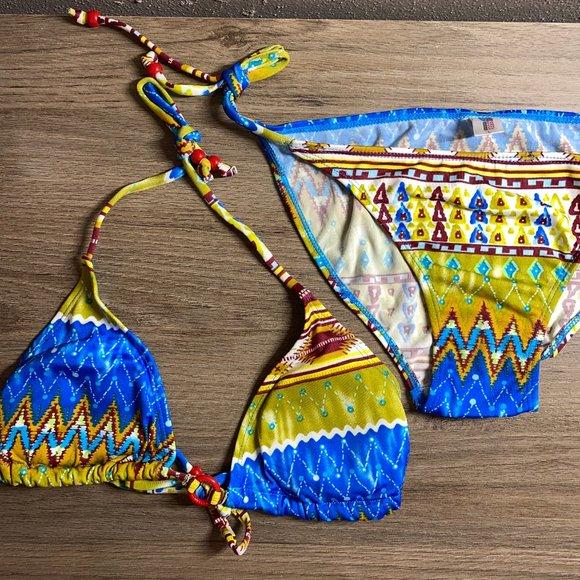 NWT Tribal Print Bikini